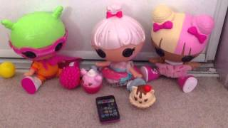 "Spoons Mim and Tiny react to Five nights at lalaloopsy land's ""what time is it?"""