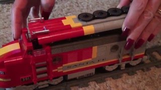 Sbrick and Ipad using  Bluetooth Remote control LEGO trains 10020,10133,10157 and Custom