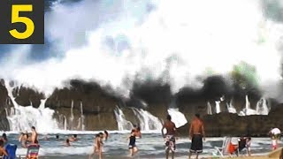 Top 5 LARGEST Rogue Waves