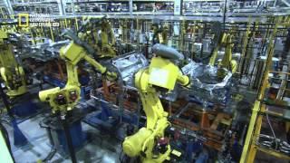 صناعة السيارات باستخدام الروبوت