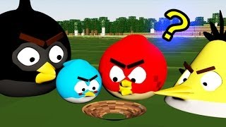 REALLY Angry Birds In MINECRAFT!