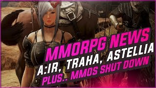 MMORPG News: WE GOT NEW MMOS COMING! Ascent: Infinite Realm BETA, Traha, Astellia, Mad World
