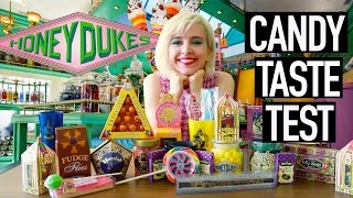 I Try ALL the Harry Potter Candy at Honeydukes   Wizarding World of Harry Potter Haul