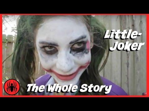 The Whole Story: Little Heroes Joker w/ Spiderman, Batman, Paul Fun in Real Life Comic SuperHeroKids