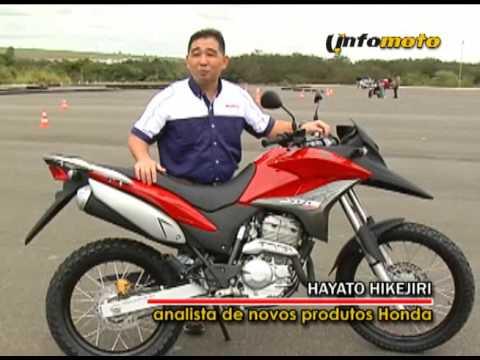 INFOMOTO Hot News Lançamentos Honda 2010 CB 300R XRE 300 e Lead 110