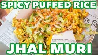 Jhaal Muri | Spicy Puffed Rice | Bangladeshi Streetfood | Dhaka