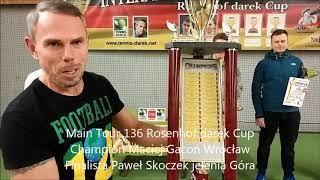 136 Rosenhof darek Cup. Closing Ceremony & The Trophies & Players Speech!