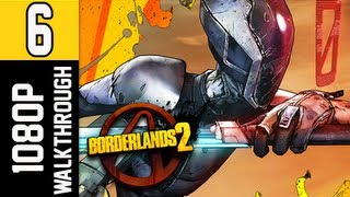 Borderlands 2 Walkthrough - Part 6 [Chapter 3] Best Minion Ever Let's Play Gameplay