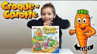JEU - CROQUE CAROTTE - Challenge - Test jeux de société
