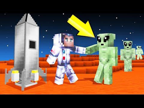 I Found ALIENS In MINECRAFT SPACE help