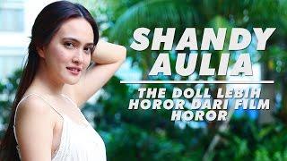 Shandy Aulia Takut Lihat Wajahnya Sendiri di Film The Doll