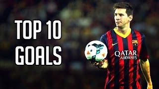 Lionel Messi Top 10 Goals (মেসির জীবনে সেরা ১০ গোল) Post by Ekla Rana