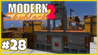 Piston = METAL PRESS! - Minecraft Modern Skyblock 2 (Expert Mode) - #28