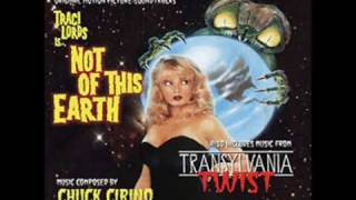 Not of this Earth 1988 Main Titles Song (3 Versions) Spooky New-Wave!