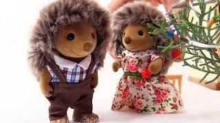 Village Story kız oyuncakları Yeni Yıl süslemeleri yapıyorlar. Eğlenceli çocuk videosu Türkçe izle!