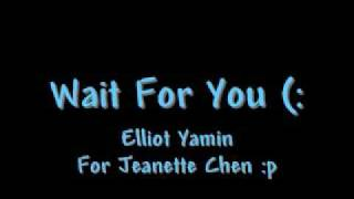 Wait for you - Elliot Yamin