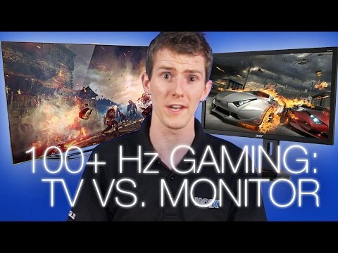Are TVs as good as Monitors for Gaming 144Hz Monitor vs 120Hz TV