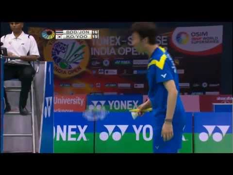 F - MD - B.Issara/M.Jongjit vs Ko S.H./Yoo Y.S. - 2012 Yonex-Sunrise India Open