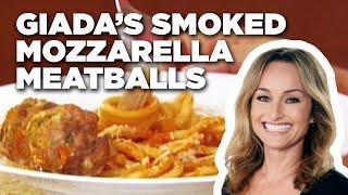 Giada's Smoked Mozzarella Meatballs | Food Network