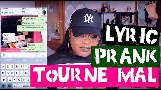 LYRICS PRANK JE PIEGE MA MERE ,CA TOURNE ARCHI MAL | BEAUTYGLAMPARIS