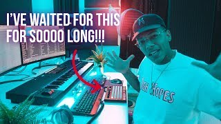 MAKING A BEAT WITH THE NEW AKAI FIRE IN FL STUDIO 20!!! (Akai Fire Review)