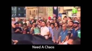 عاجل ...عاجل جانب مظاهرة ٣١ تموز 2015 في ساحة التحرير في وسط بغداد