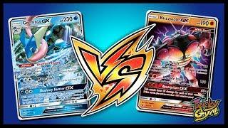 Greninja GX vs Buzzwole GX / Lycanroc GX - Pokemon TCG Online Gameplay