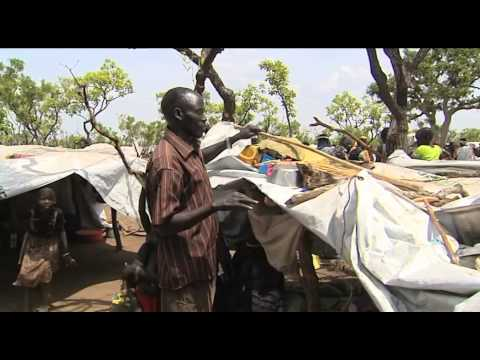 Tough conditions for South Sudanese in refugee camp