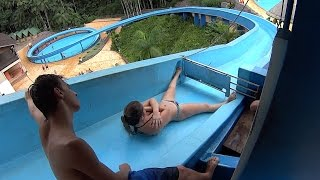 The Karacol Water Slide at Cascanéia