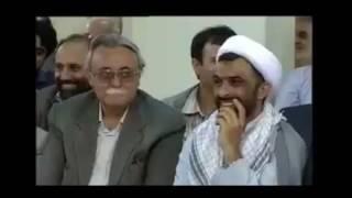 شعر طنز ناصر فیض در حضوررهبر  www.sheretanz.ir