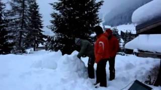 drei männer im schnee.wmv