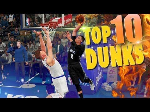 NBA 2K16 TOP 10 DUNKS, POSTERS