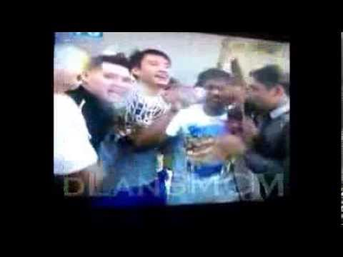 PBA 2013 Governors Cup Champions San Mig Coffee Mixers Dug Out Party