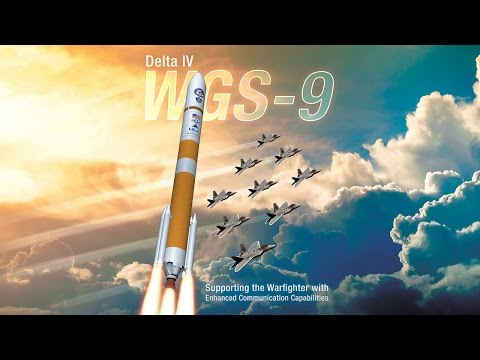LIVE Launch Broadcast Delta IV WGS 9