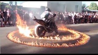 Show de motos em Corumbataí