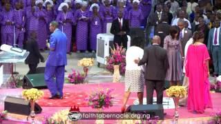 Pastor E.A Adeboye ministration at Winners Chapel (Living Faith Church Worldwide) 35th Anniversary