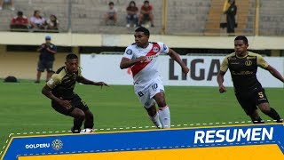 Resumen: Universitario vs. Deportivo Municipal (2-4)