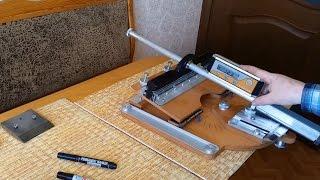 Заточка ножа Точилка AKSS 2 2015  Knife sharpening  Homemade knife sharpening system  AKSS 2 2015