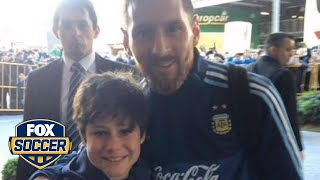 Lionel Messi just made this boy