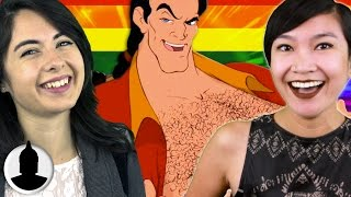 The Beauty And The Beast Theory - Is Gaston Into Men? - Cartoon Conspiracy (Ep. 70) @ChannelFred