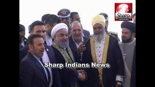 Iran President Hassan Rouhani Offers Prayers At Makkah Masjid in Hyderabad Telangana 2018