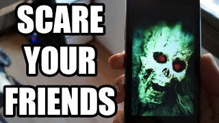 Scare your friends - Funny Phone prank with camera App for Android