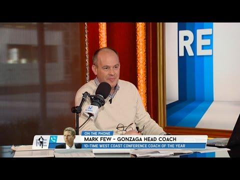 Gonzaga Head Basketball Coach Mark Few Talks Win Streak & More 2 22 17