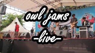 owl jams - jatuh cinta live banten indie clothing 2015