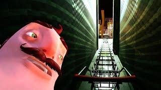NEW SUPERMARKET LEVEL!?! SECRET ROOM!! (Hello Neighbor Beta / Hello Neighbour Alpha 4 Gameplay)