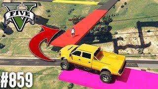 XXL UNMÖGLICHER SANDKING PARCOUR! (+DOWNLOAD) | GTA 5 - CUSTOM MAP RENNEN