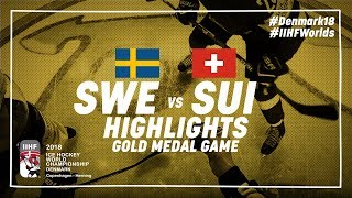 Game Highlights: Sweden vs Switzerland May 420 2018 | #IIHFWorlds 2018
