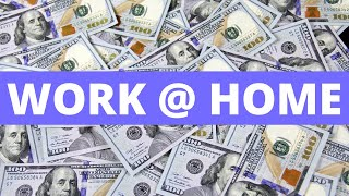 🏠 💲 Work From Home | 💰 Make Money Online | (How To Earn Extra Money Online Without Paying Anything)