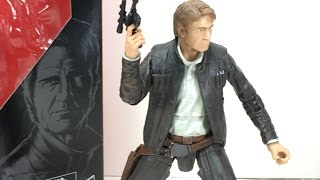 Star Wars Force Awakens Black Series 6 Inch Han Solo Toy Review