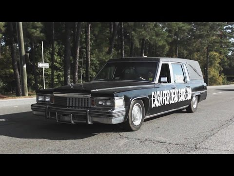 The GRIM REAPER Delivery Boy 1979 Cadillac Hearse Review